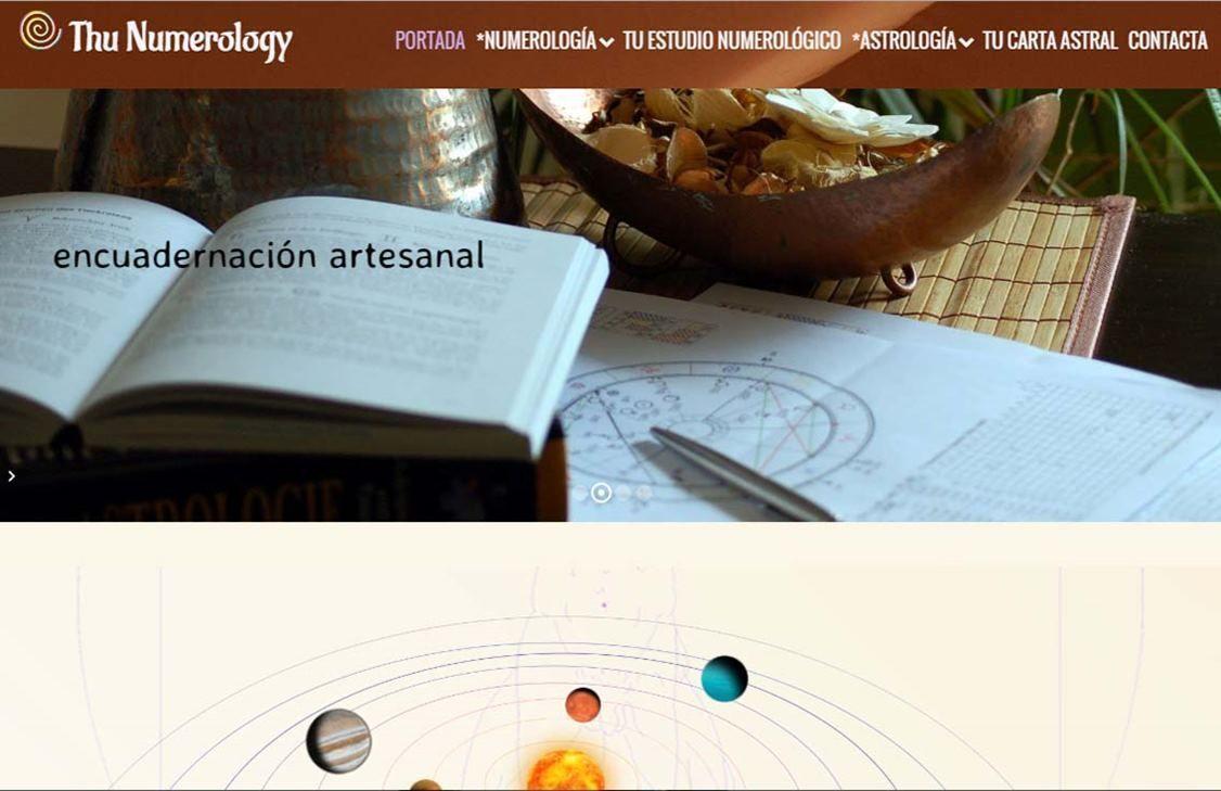 yMeraki estudio creativo - Diseño web thunumerology-portada