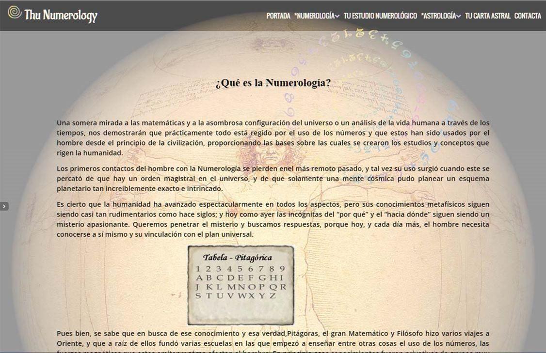 yMeraki estudio creativo - Diseño web thunumerology-que-es-la-numerologia