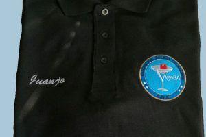 yMeraki estudio creativo - Agaba Polo con logo bordado