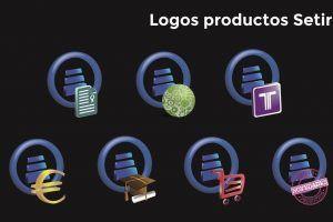 yMeraki estudio creativo - Logos Setir con iconos de productos