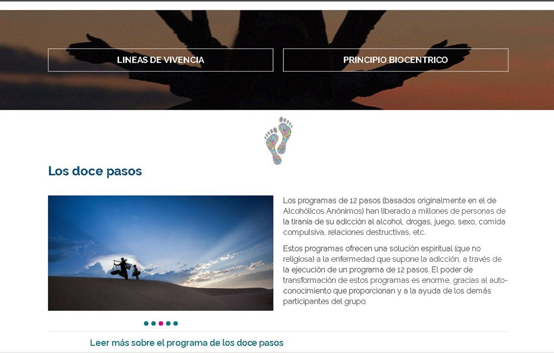 yMeraki estudio creativo - web biodanzar.com los doce pasos