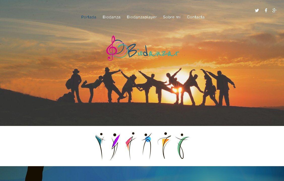 yMeraki estudio creativo - web biodanzar.com portada