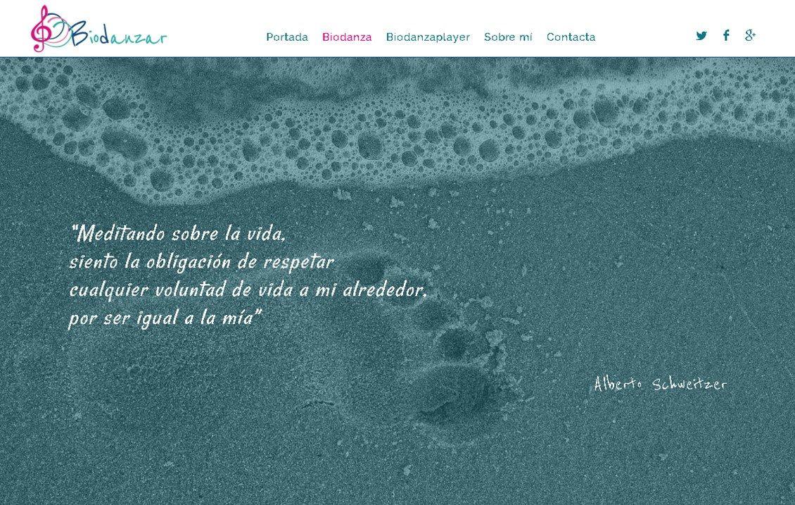 yMeraki estudio creativo - web biodanzar.com que es biodanza